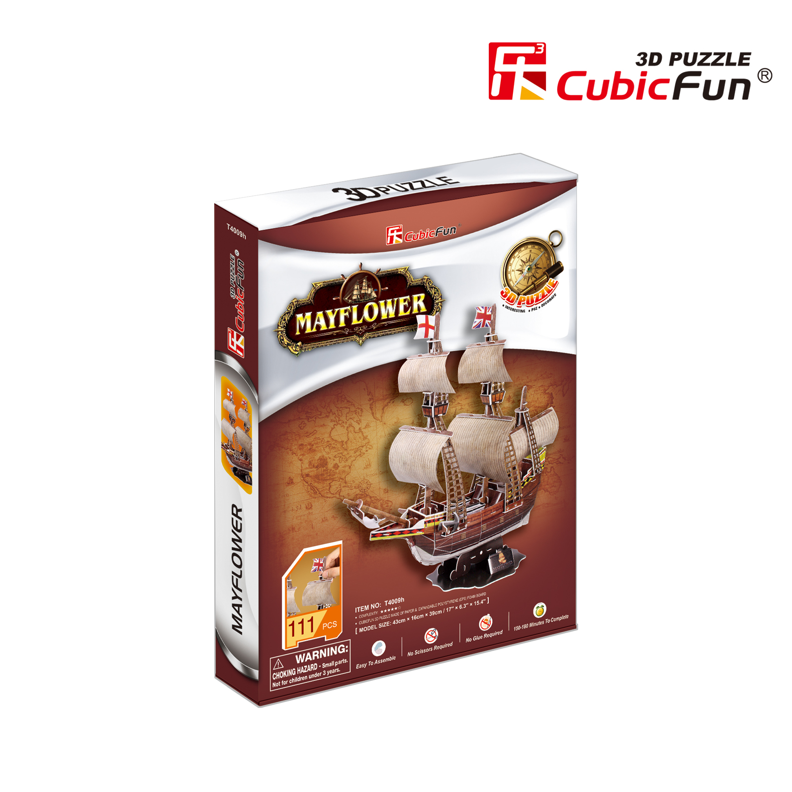 cubic-fun-3d-puzzle-may-flower-schwierigkeit-4-8-111-teile-puzzle-cubic-fun-t4009h