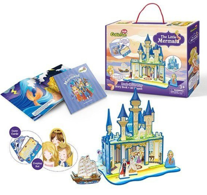 cubic-fun-3d-puzzle-the-little-mermaid-schwierigkeit-2-8-24-teile-puzzle-cubic-fun-e1602h