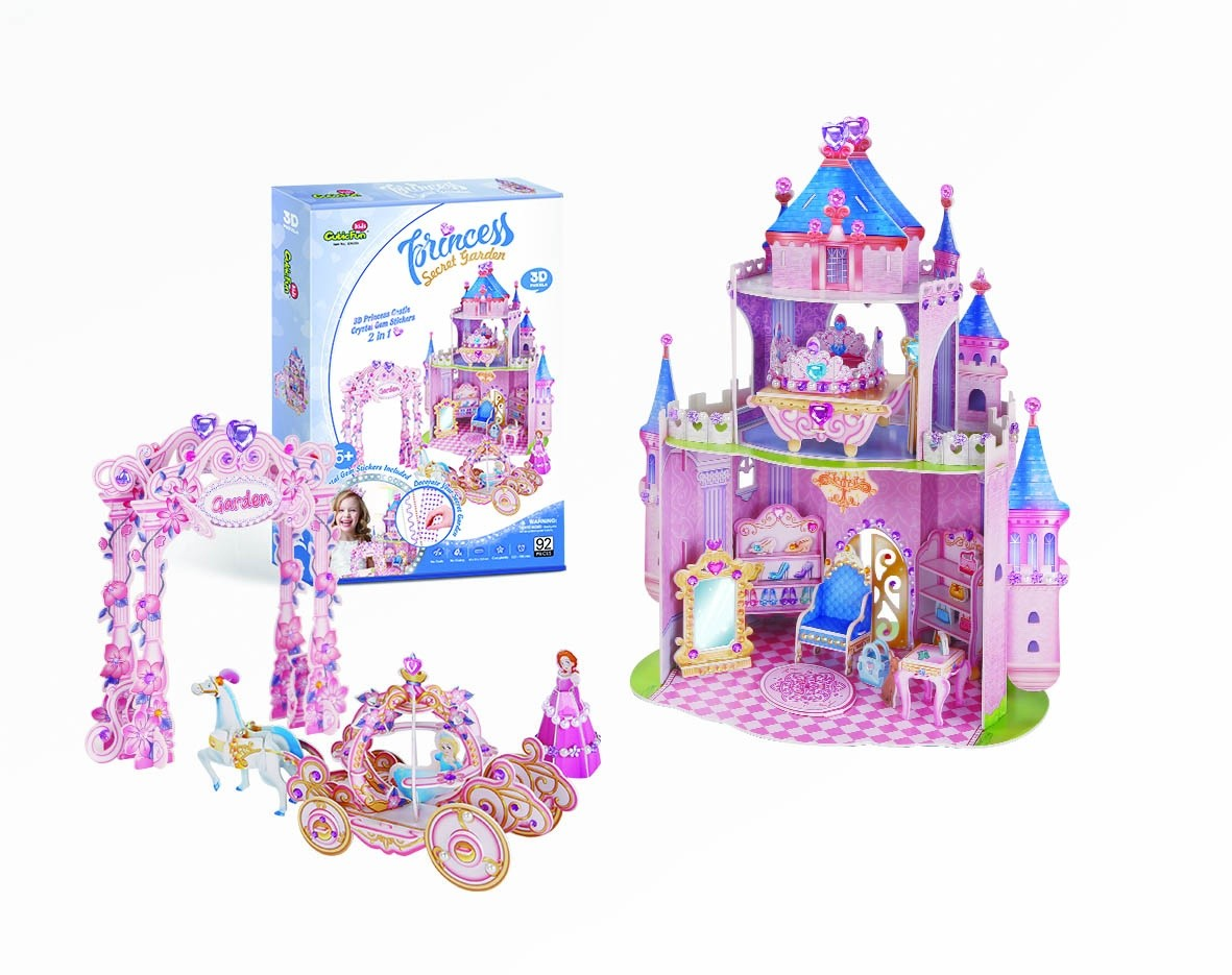cubic-fun-3d-puzzle-princess-secret-garden-92-teile-puzzle-cubic-fun-e1623h