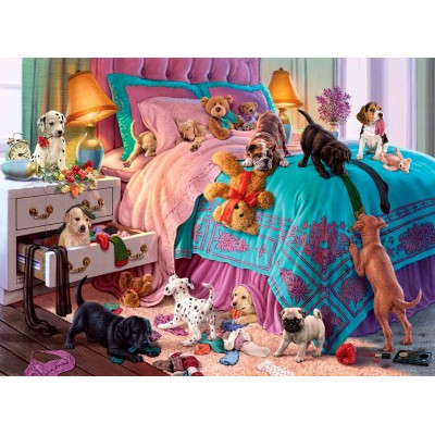 Ausgefallenkreatives - Perre Anatolian Naughty Puppies 1000 Teile Puzzle Perre Anatolian 1064 - Onlineshop Puzzle.de