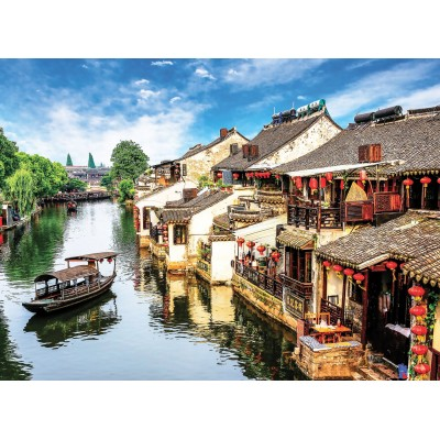 Ausgefallenkreatives - Perre Anatolian Xitang Ancient Town 2000 Teile Puzzle Perre Anatolian 3945 - Onlineshop Puzzle.de