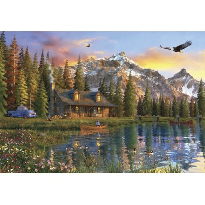 Ausgefallenkreatives - Perre Anatolian Oldlook Cabin 2000 Teile Puzzle Perre Anatolian 3933 - Onlineshop Puzzle.de