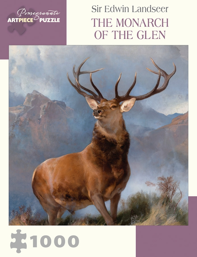 pomegranate-sir-edwin-landseer-the-monarch-of-the-glen-1000-teile-puzzle-pomegranate-aa1007