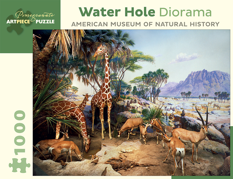 pomegranate-water-hole-diorama-american-museum-of-natural-history-1000-teile-puzzle-pomegranate-aa