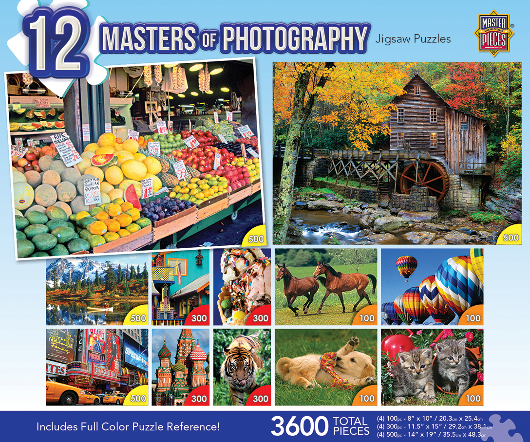 12 Puzzles - Masters Of Photography