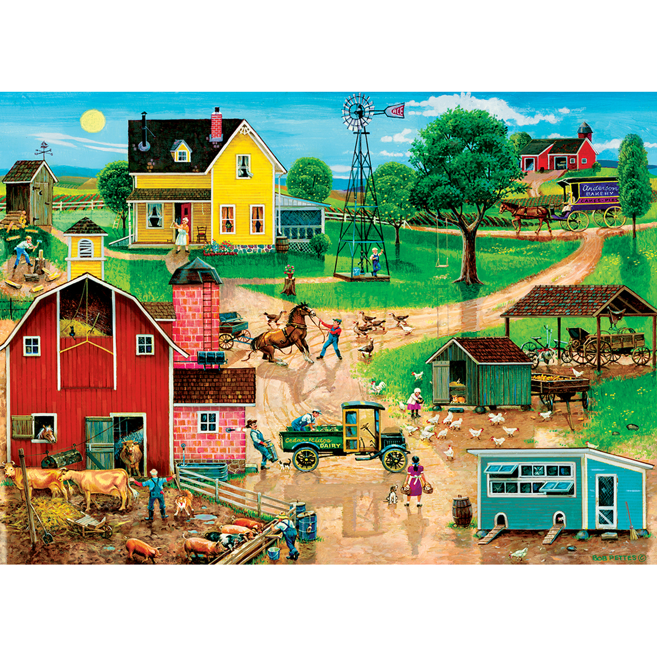 master-pieces-xxl-teile-after-the-chores-500-teile-puzzle-master-pieces-32005