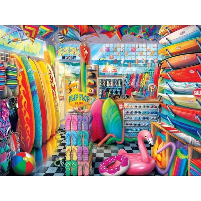 Ausgefallenkreatives - Master Pieces Shopkeepers Beach Side Gear 750 Teile Puzzle Master Pieces 32051 - Onlineshop Puzzle.de