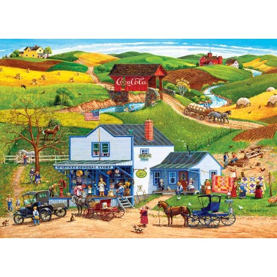 Ausgefallenkreatives - Master Pieces McGiverny's Country Store 1000 Teile Puzzle Master Pieces 72027 - Onlineshop Puzzle.de