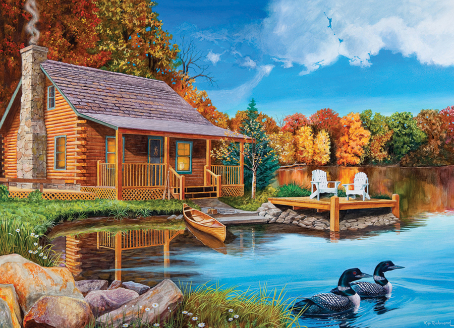 cobble-hill-outset-media-usa-loon-lake-1000-teile-puzzle-cobble-hill-57154
