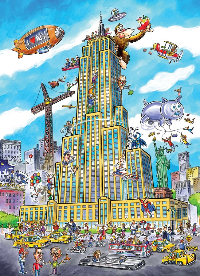 cobble-hill-outset-media-doodletown-empire-state-1000-teile-puzzle-cobble-hill-53501