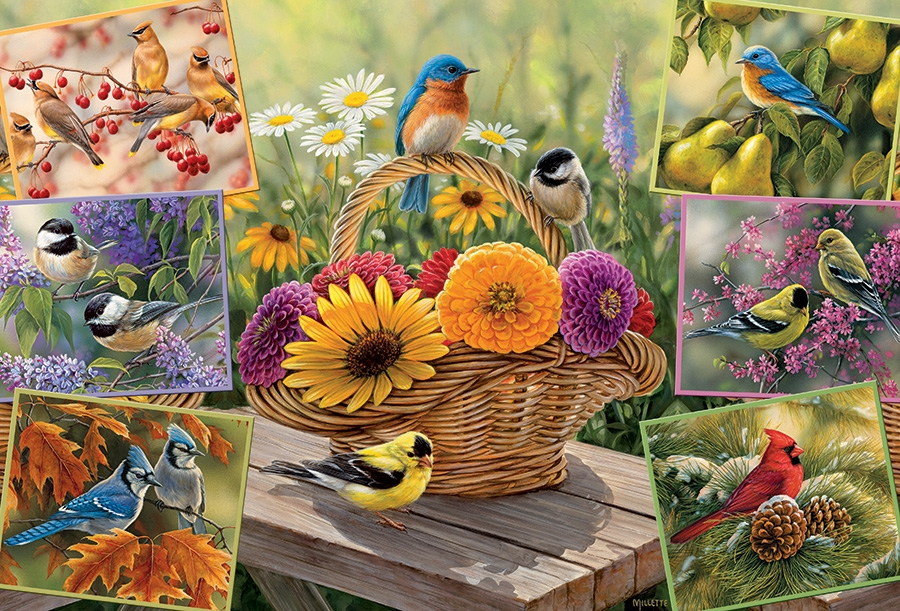 cobble-hill-outset-media-rosemary-millette-rosemarys-birds-2000-teile-puzzle-cobble-hill-50712