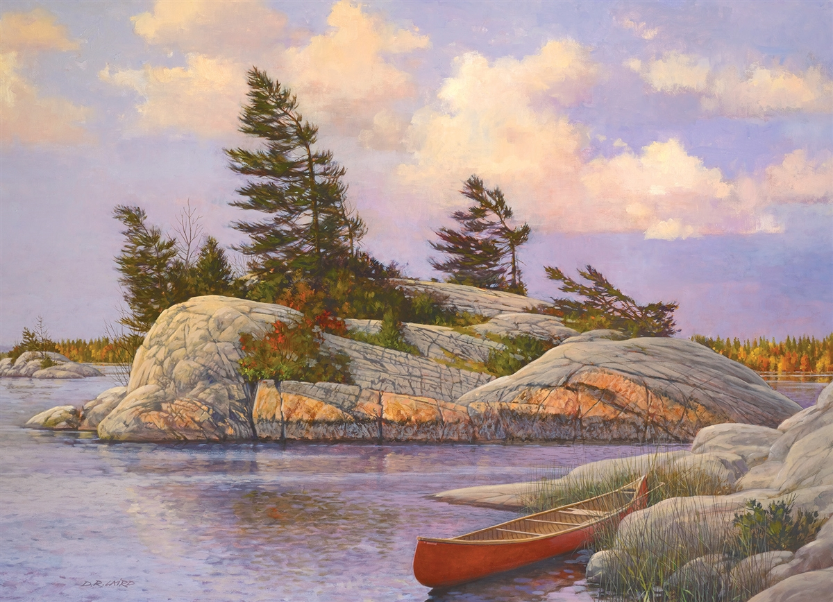 cobble-hill-outset-media-douglas-laird-red-canoe-1000-teile-puzzle-cobble-hill-51014