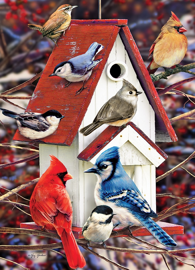 cobble-hill-outset-media-greg-giordano-winter-birdhouse-1000-teile-puzzle-cobble-hill-80122, 14.95 EUR @ puzzle-de