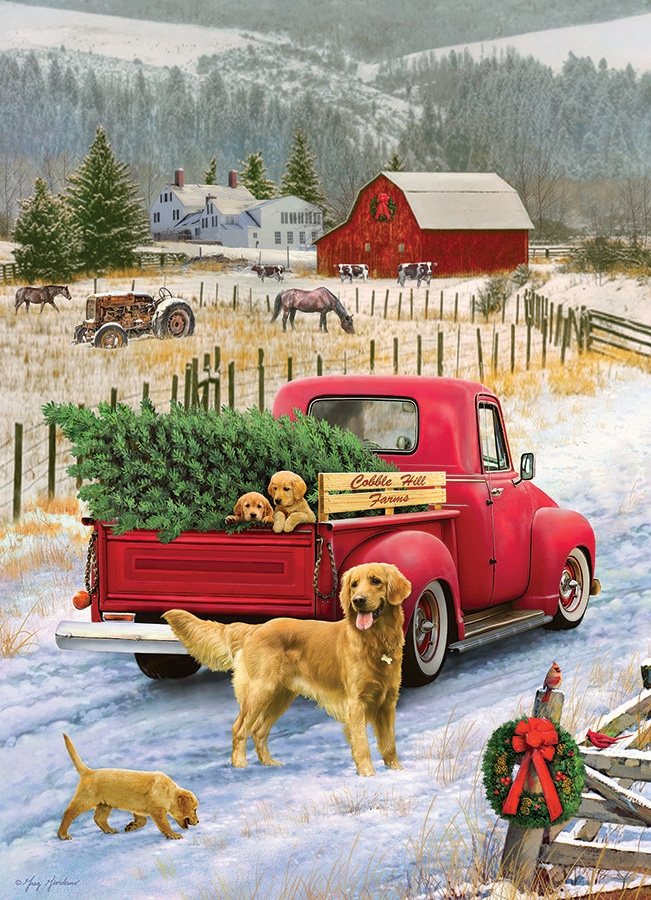 cobble-hill-outset-media-christmas-on-the-farm-1000-teile-puzzle-cobble-hill-80127