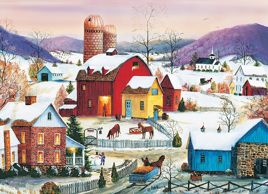 cobble-hill-outset-media-winter-neighbors-1000-teile-puzzle-cobble-hill-80007