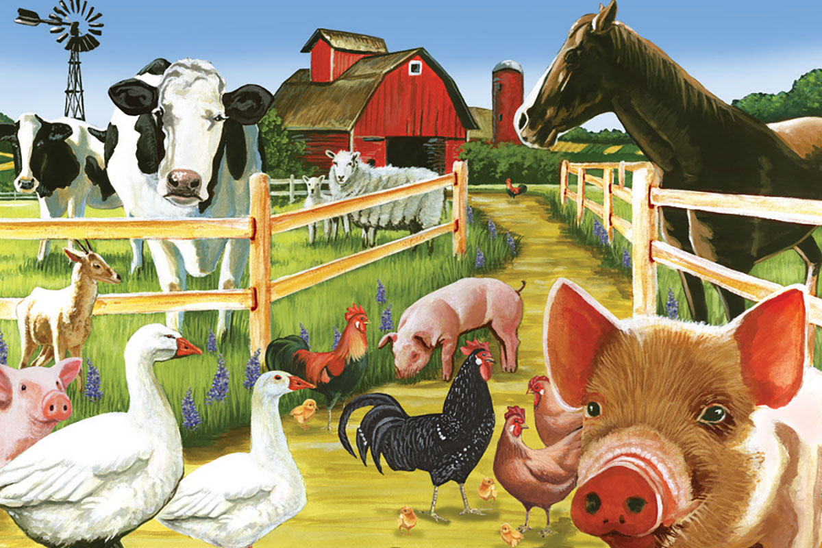 cobble-hill-outset-media-farmyard-welcome-35-teile-puzzle-cobble-hill-58880