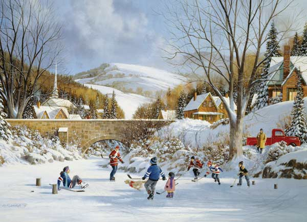 cobble-hill-outset-media-hockey-on-frozen-lake-1000-teile-puzzle-cobble-hill-80059