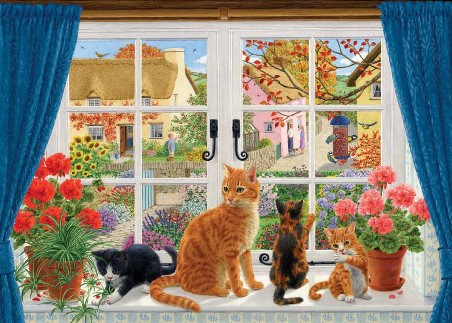 falcon-sarah-adams-through-the-cottage-window-500-teile-puzzle-jumbo-11064