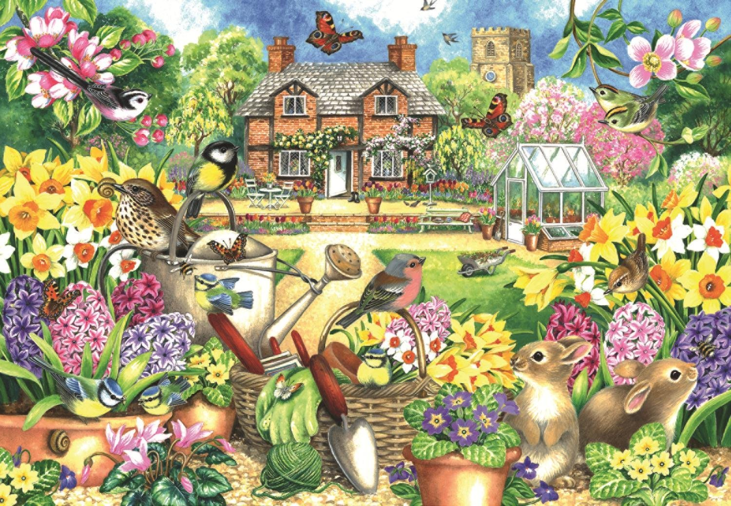 falcon-claire-comerford-spring-garden-1000-teile-puzzle-jumbo-11106