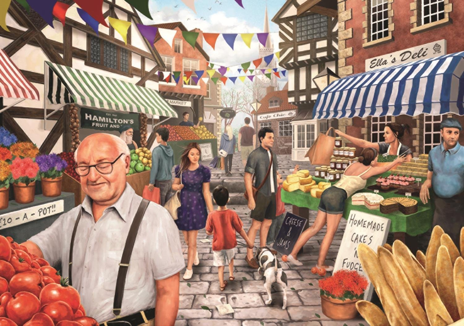 Kevin McGivern - Market Day