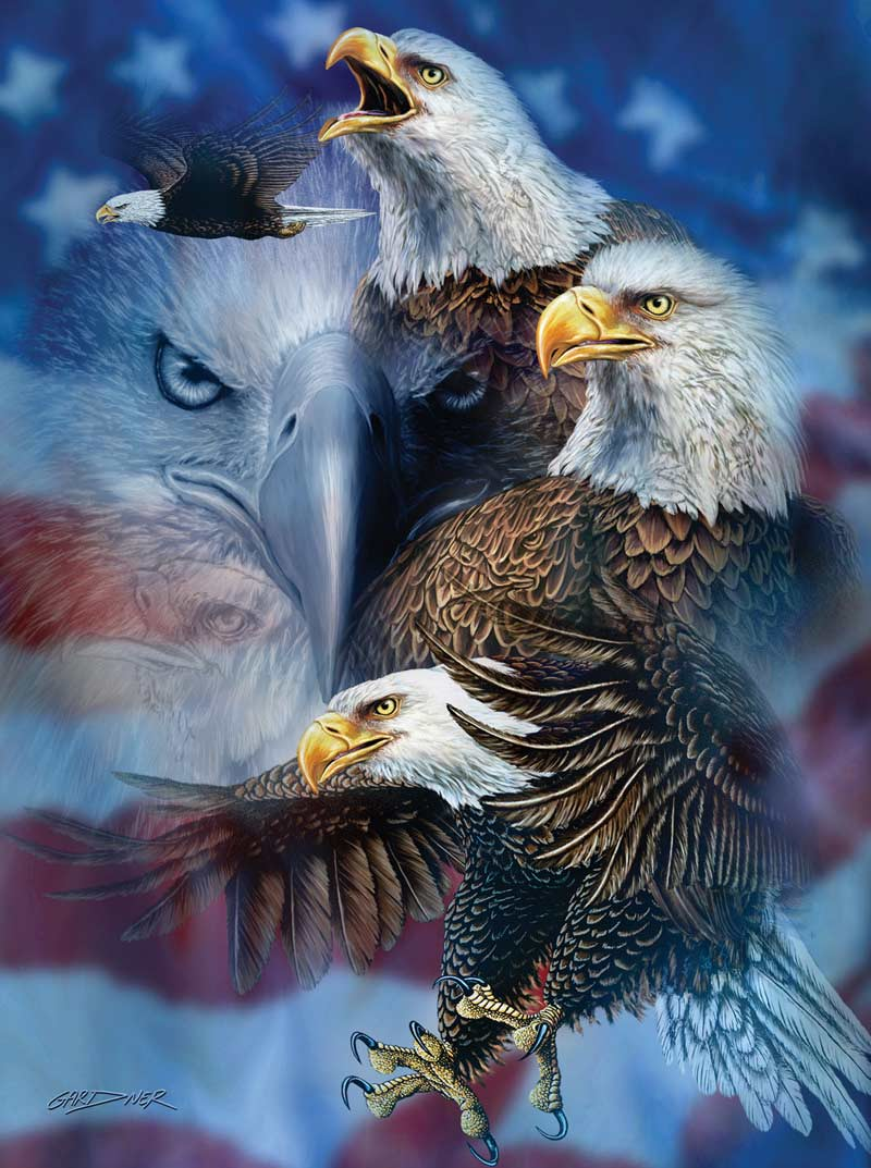 Steven Michael Gardner - Patriotic Eagles