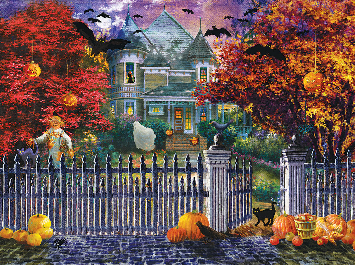 sunsout-nicky-boehme-halloween-house-1000-teile-puzzle-sunsout-19227