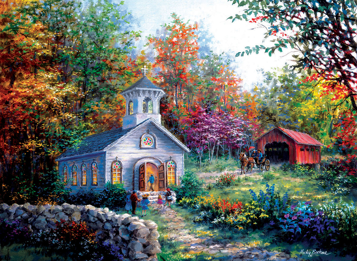 sunsout-nicky-boehme-worship-in-the-countryside-1500-teile-puzzle-sunsout-19329