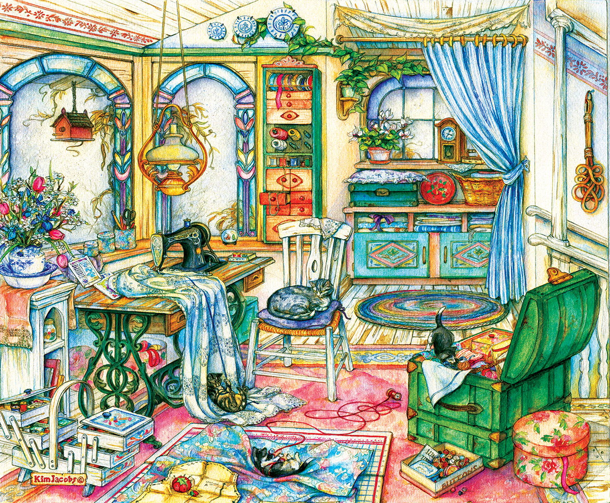 sunsout-kim-jacobs-my-sewing-room-1000-teile-puzzle-sunsout-23419