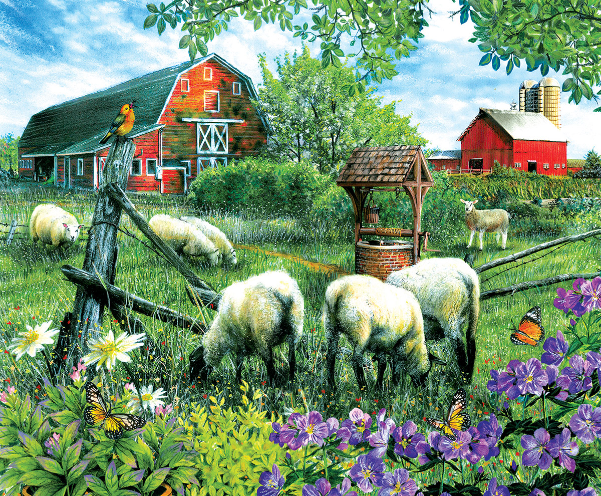 sunsout-tom-wood-pleasant-valley-sheep-farm-1000-teile-puzzle-sunsout-28566