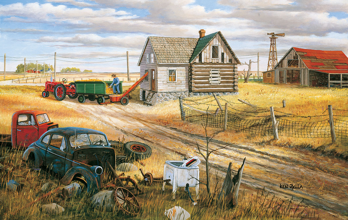 sunsout-ken-zylla-homestead-and-corn-crib-550-teile-puzzle-sunsout-39612