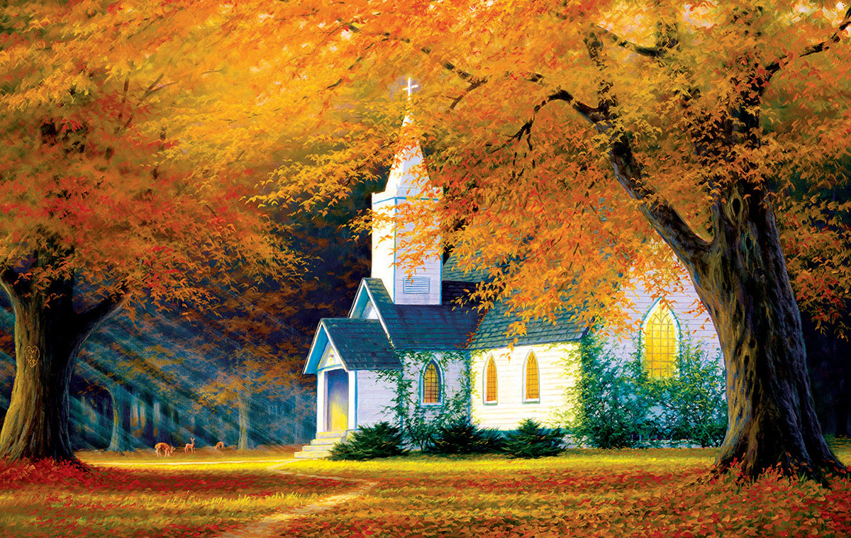 sunsout-charles-white-church-in-the-glen-550-teile-puzzle-sunsout-48560