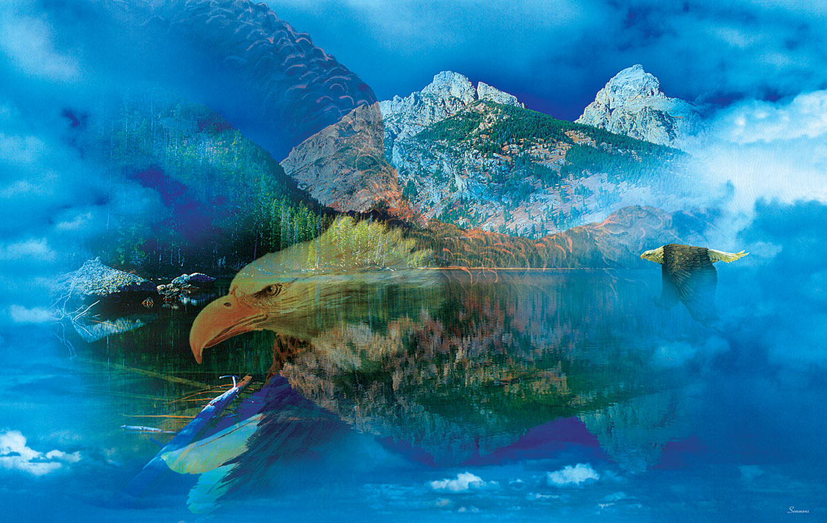 Gordon Semmens - Eagle Dreamscape