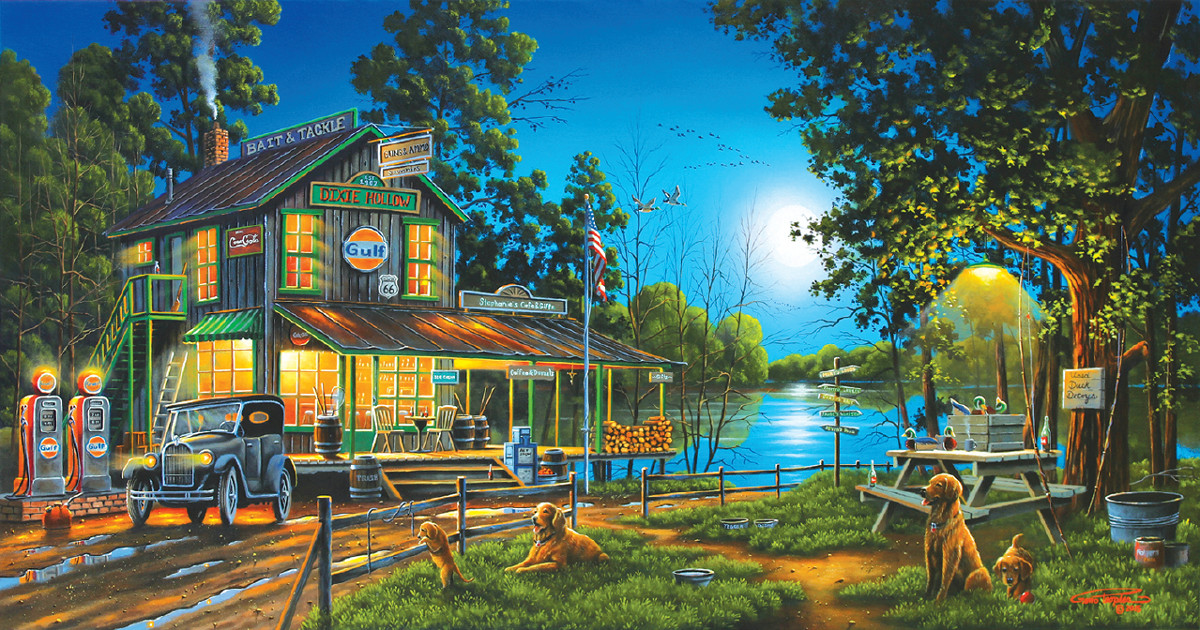 sunsout-geno-peoples-dixie-hollow-general-store-1000-teile-puzzle-sunsout-51310