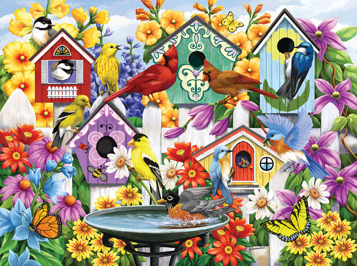 sunsout-nancy-wernerbach-garden-neighbors-1000-teile-puzzle-sunsout-62998