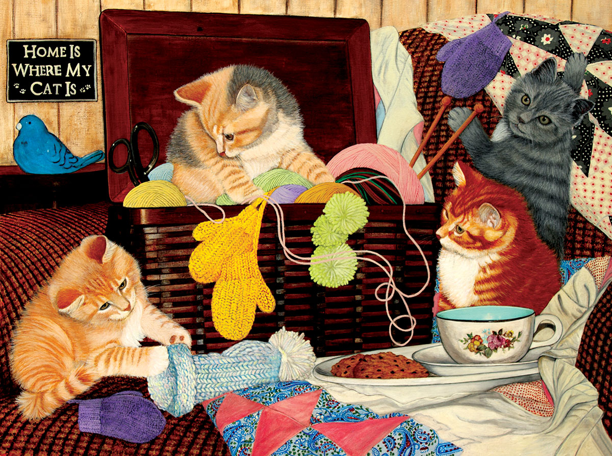 Julie Bauknecht - Home is Where my Cat is