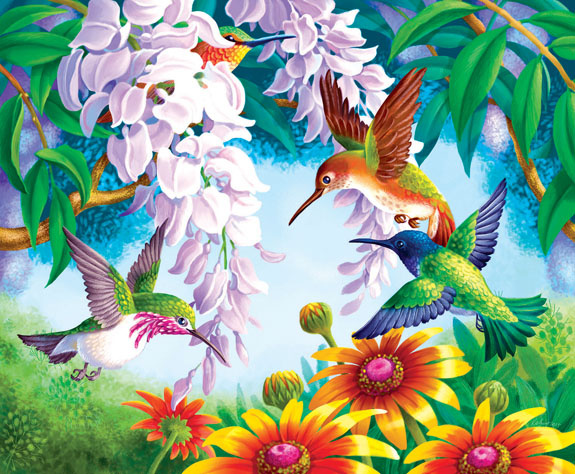 sunsout-olga-kovaleva-hummingbird-fly-by-1000-teile-puzzle-sunsout-67605