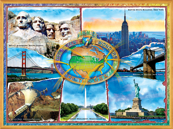 sunsout-adrian-chesterman-the-7-manmade-wonders-of-the-u-s-a-1000-teile-puzzle-sunsout-71628