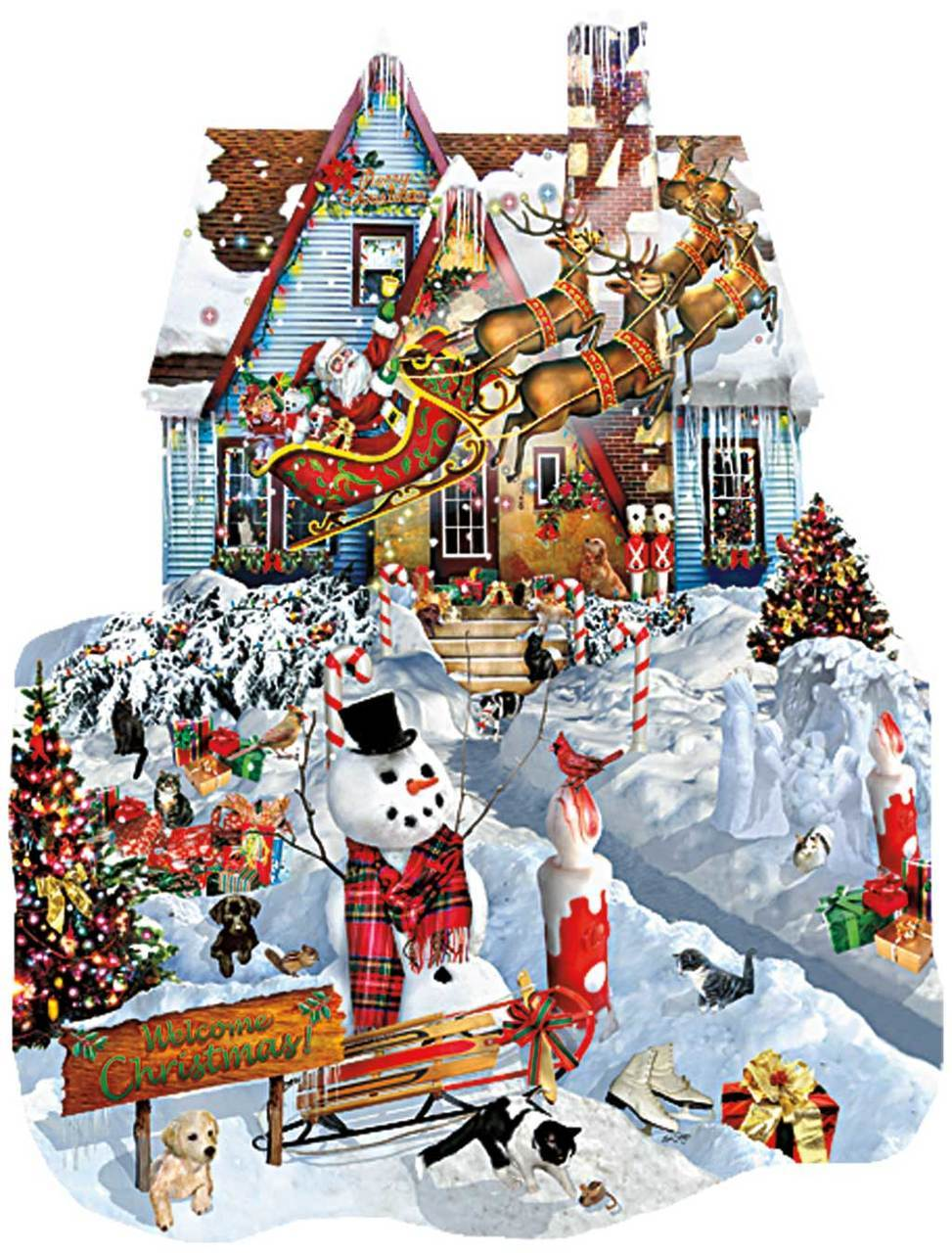 sunsout-lori-schory-christmas-at-our-house-1000-teile-puzzle-sunsout-95539