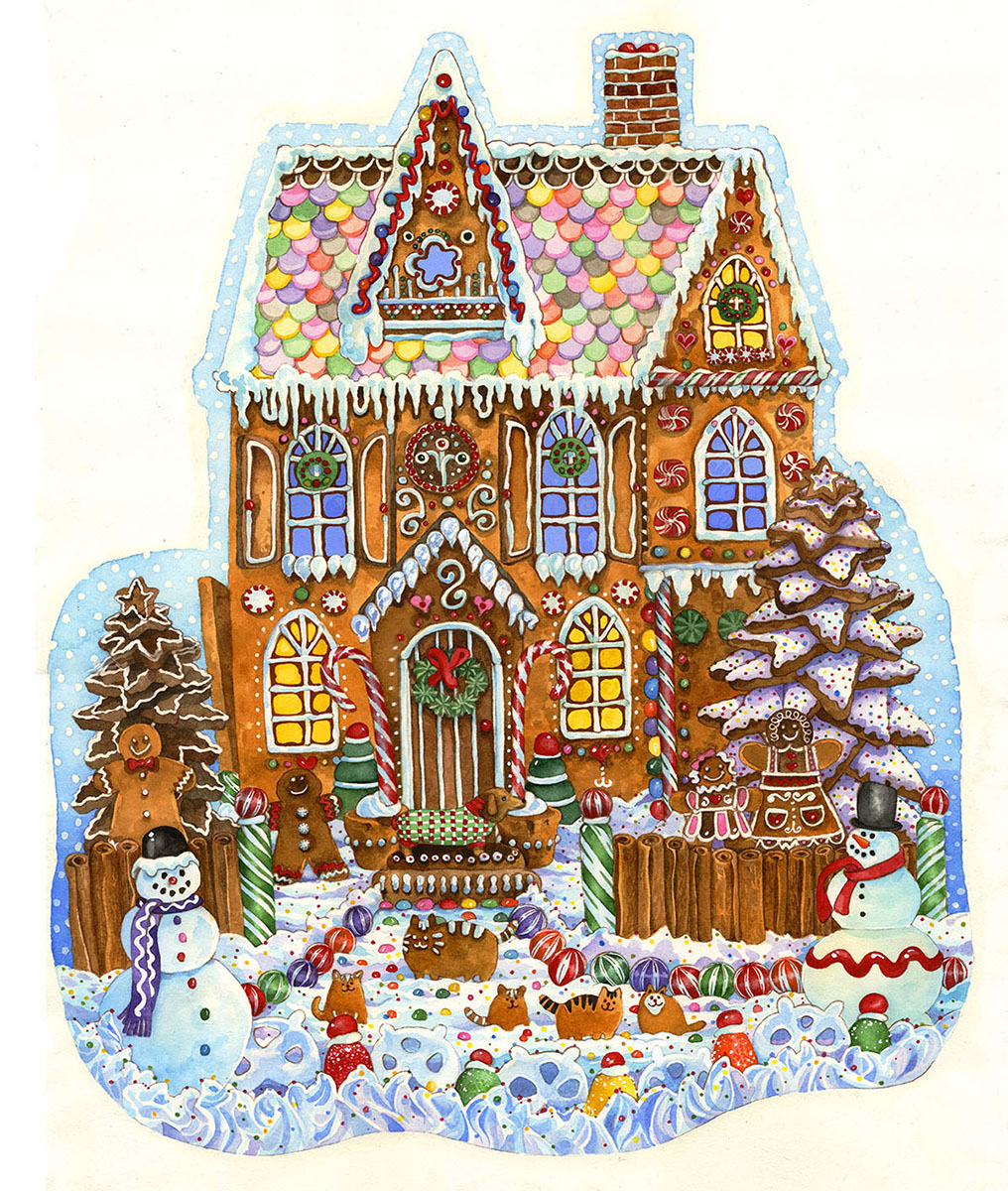 sunsout-wendy-edelson-gingerbread-house-1000-teile-puzzle-sunsout-97179