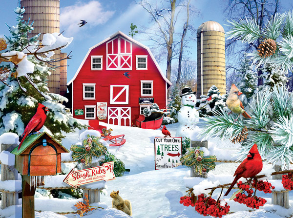 sunsout-lori-schory-a-snowy-day-on-the-farm-1000-teile-puzzle-sunsout-35025