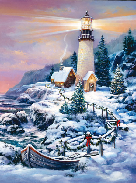 sunsout-sandra-bergeron-christmas-lighthouse-1000-teile-puzzle-sunsout-49152