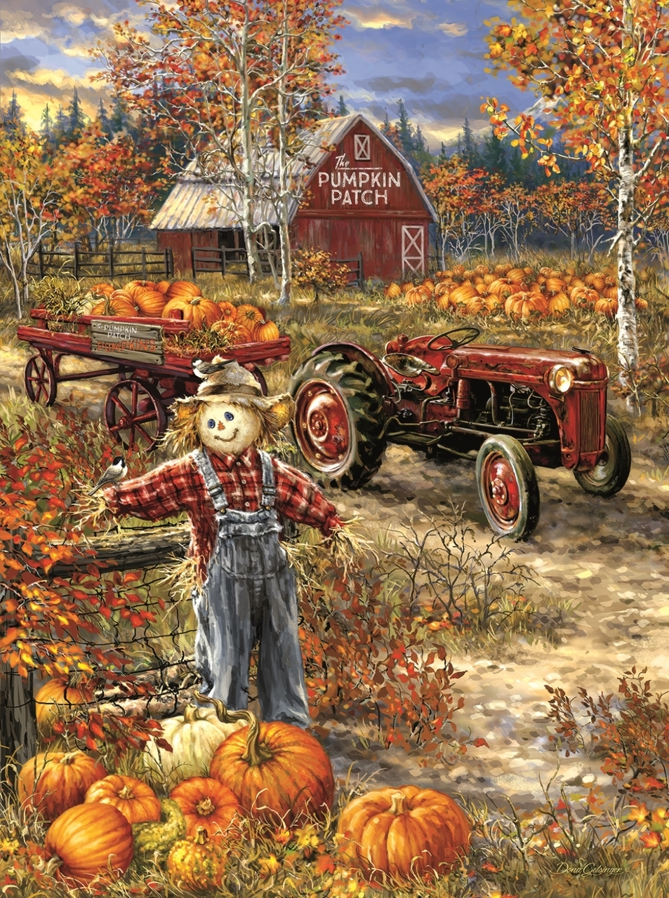 sunsout-dona-gelsinger-the-pumpkin-patch-farm-1000-teile-puzzle-sunsout-57144