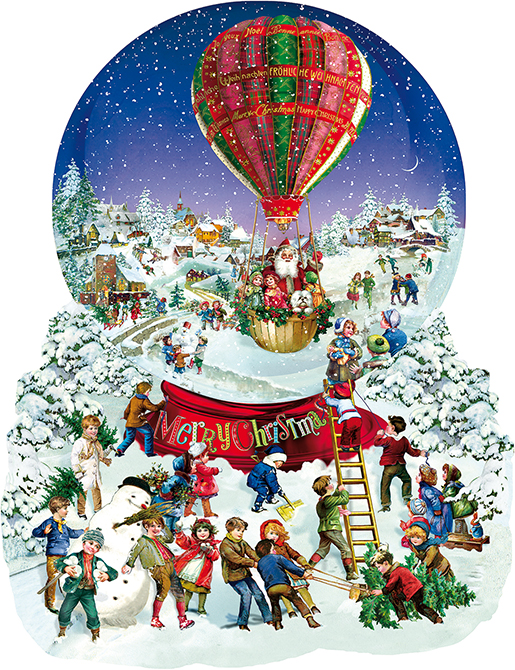sunsout-xxl-teile-barbara-behr-old-fashioned-snow-globe-1000-teile-puzzle-sunsout-96087