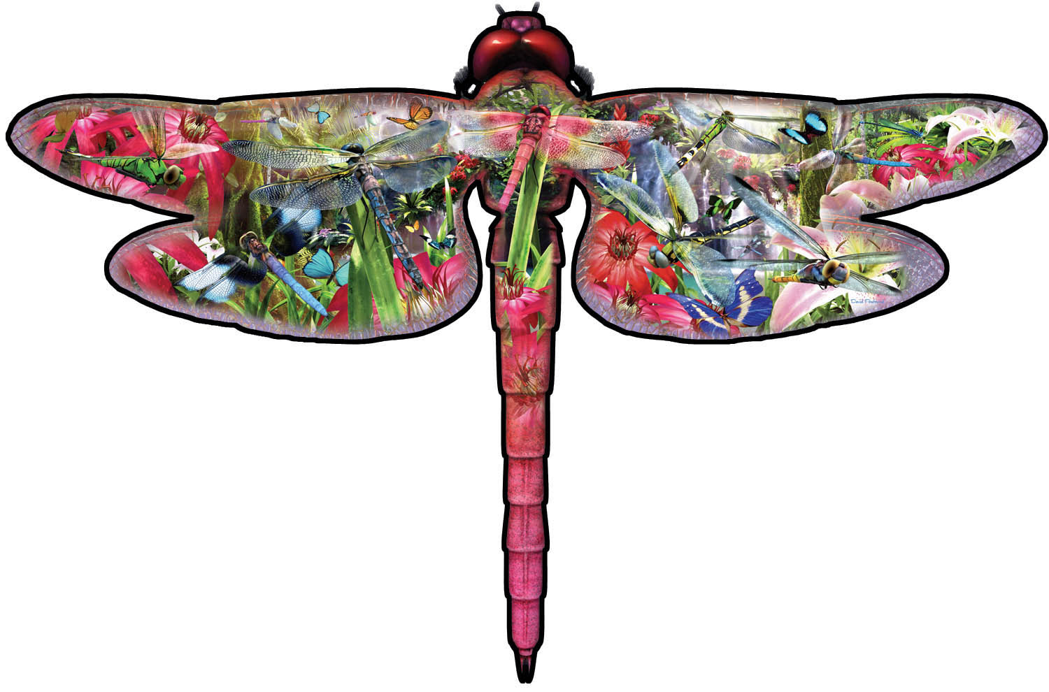 sunsout-xxl-teile-david-penfound-dragon-fly-850-teile-puzzle-sunsout-95208