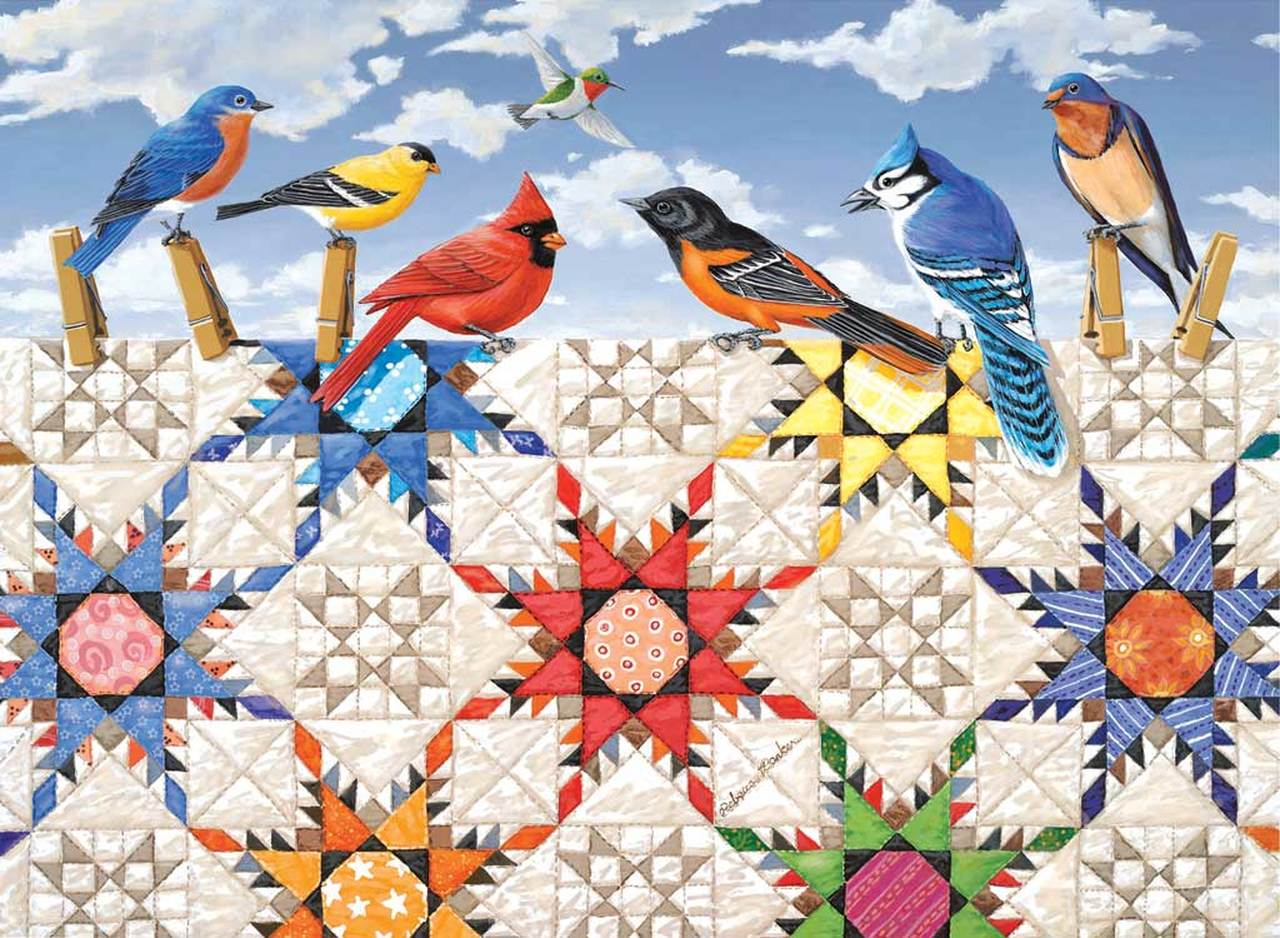 sunsout-xxl-teile-feathered-stars-500-teile-puzzle-sunsout-24210