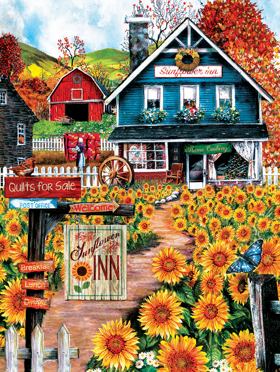 sunsout-xxl-teile-welcome-to-the-sunflower-inn-300-teile-puzzle-sunsout-28715