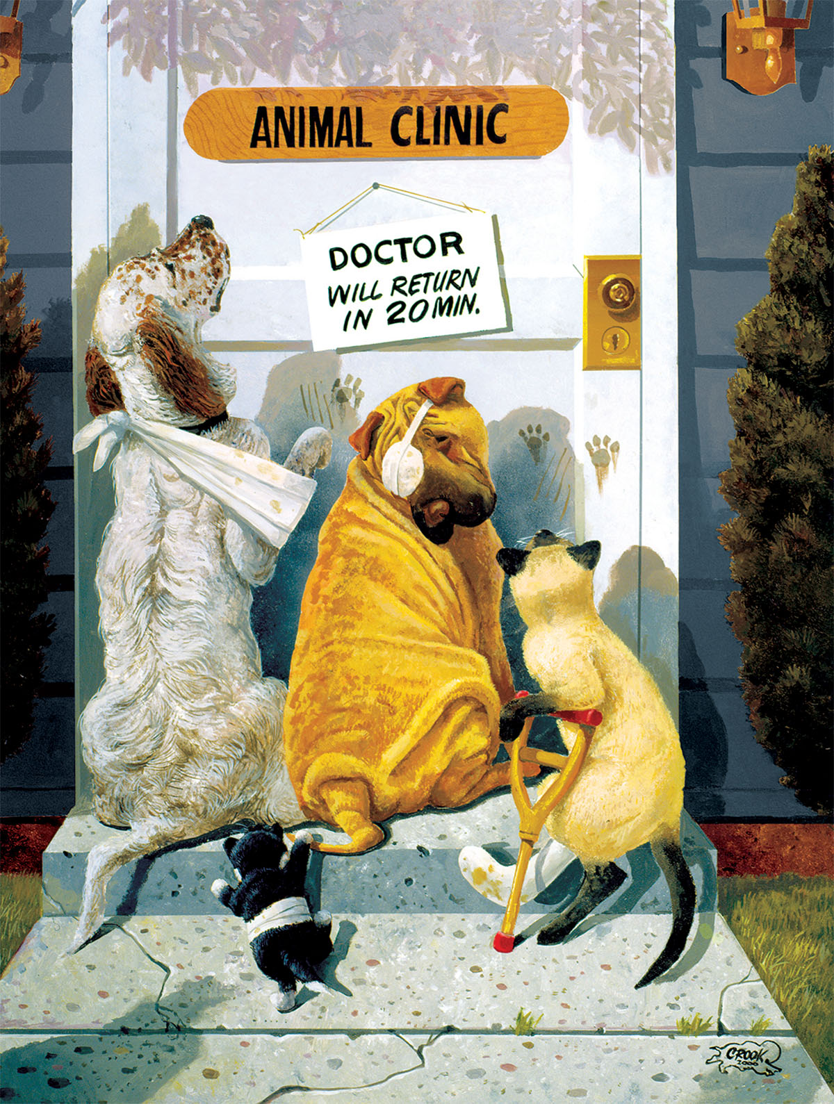 sunsout-xxl-teile-waiting-for-the-doctor-500-teile-puzzle-sunsout-36037