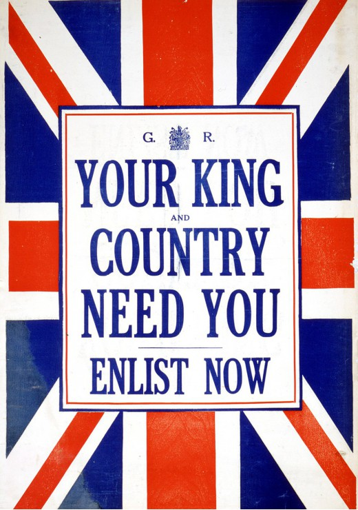grafika-your-king-and-country-need-you-enlist-now-1000-teile-puzzle-grafika-00088