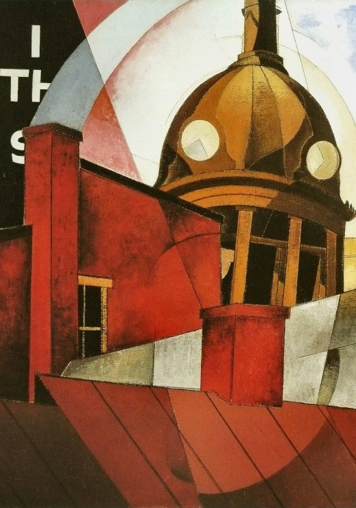 Charles Demuth: Welcome to Our City, 1921