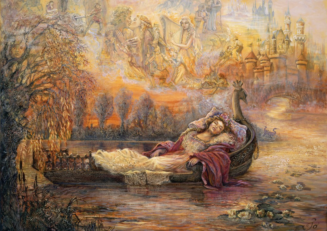 grafika-josephine-wall-dreams-of-camelot-2000-teile-puzzle-grafika-t-00260